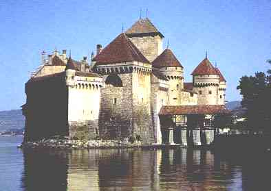 Chillon Castle, near Montreux, Switzerland