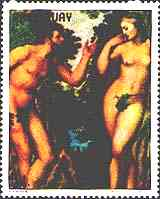 Adam and Eve, by Rubens