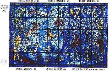 Stained-glass Windows, by Marc Chagall