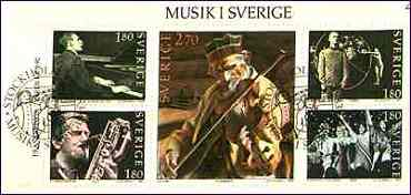 Sweden, 1983. Hins Anders, Violonist. Scott A 450